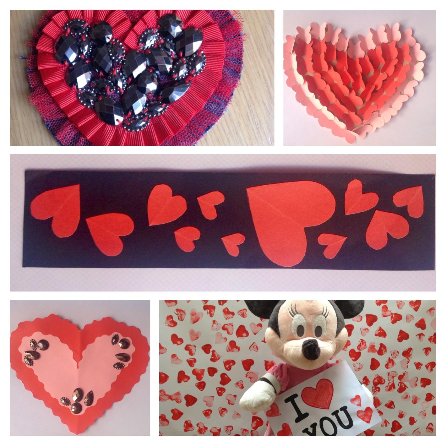 Manualidades Para El Día De San Valentín Solsolito